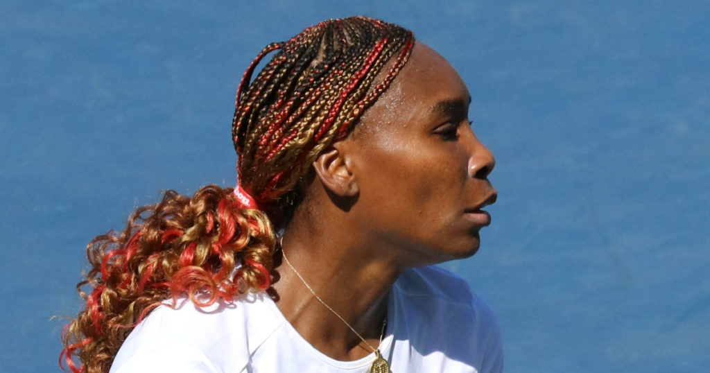 Venus Williams. Tennis-Norge.