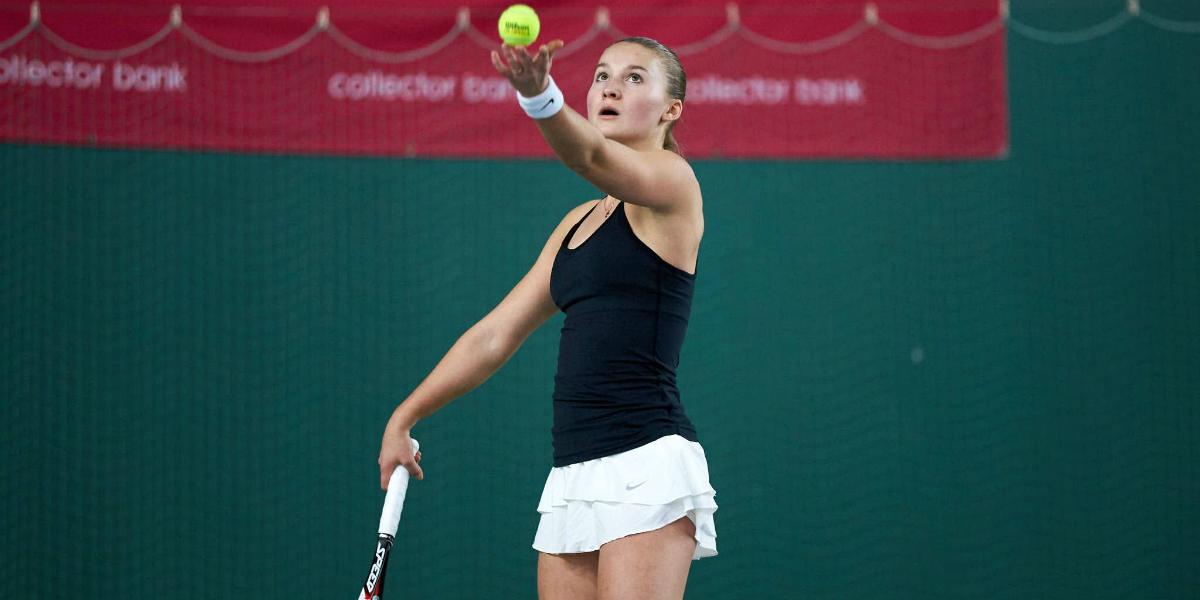Malene Helgø. Tennis-Norge.