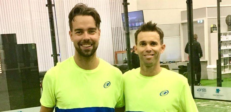 Fredrik Ask og Michael Gergahty
