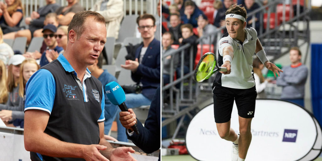 Jan Frode Andersen og Casper Ruud
