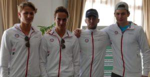 DavisCup-laget mot Egypt