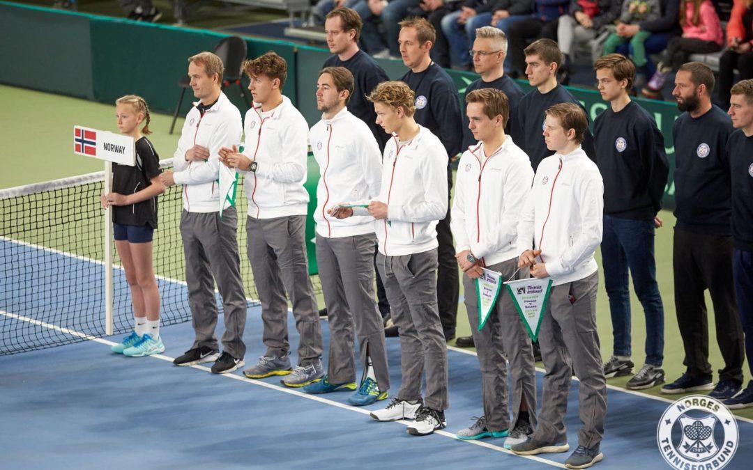 Norges motstander i Davis Cup er klar