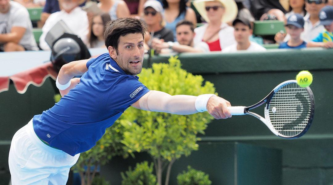 Djokovic avanserte da Nishikori måtte gi seg: – Ønsker han en kjapp bedring