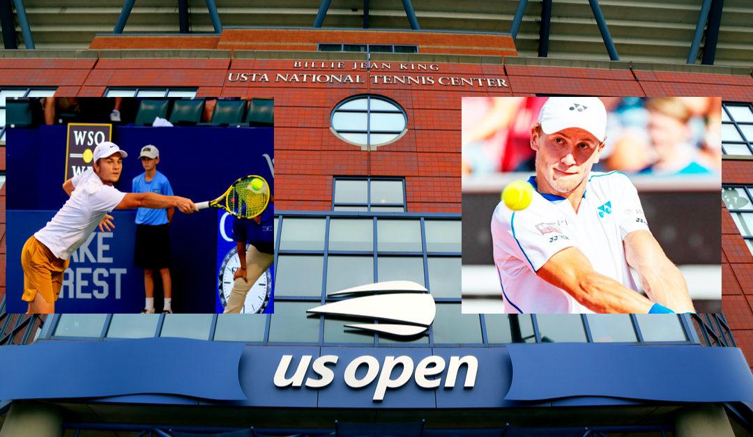 Double-seier etter dobbel-feiler i US Open for Casper Ruud