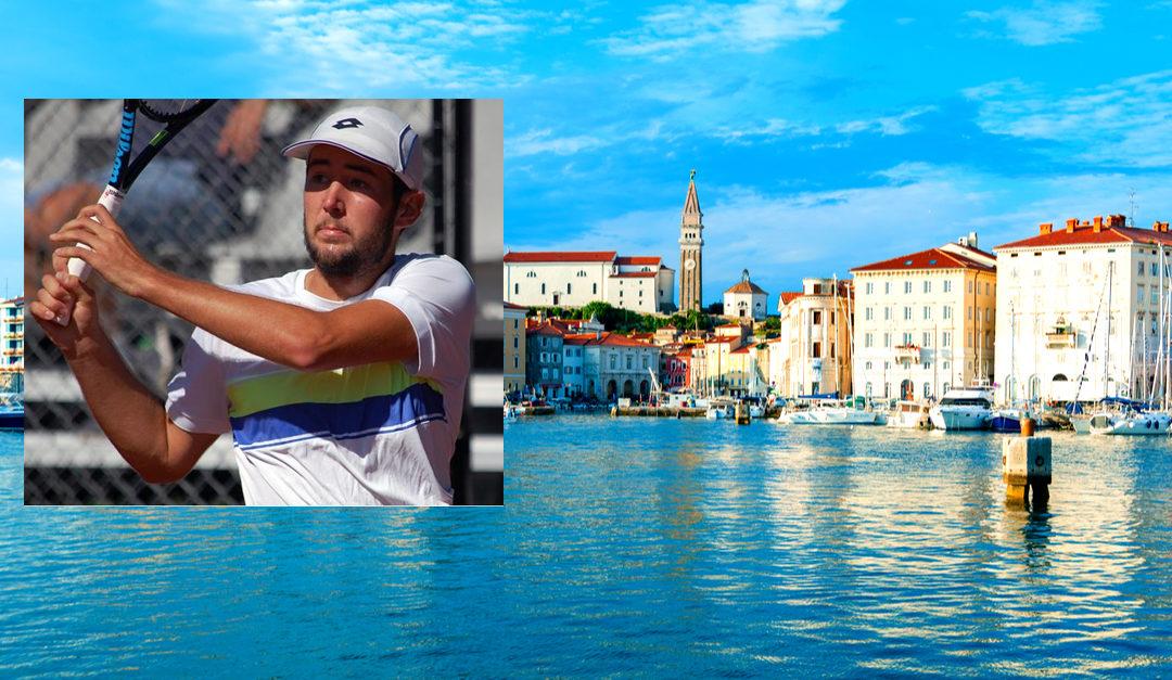 Historisk seier i Slovenia Open for Viktor Durasovic