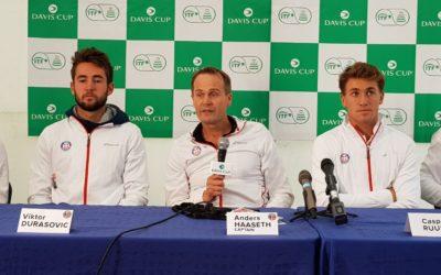 Norge møter Barbados i Davis Cup