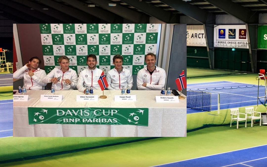 Norge slo Barbados i Davis Cup