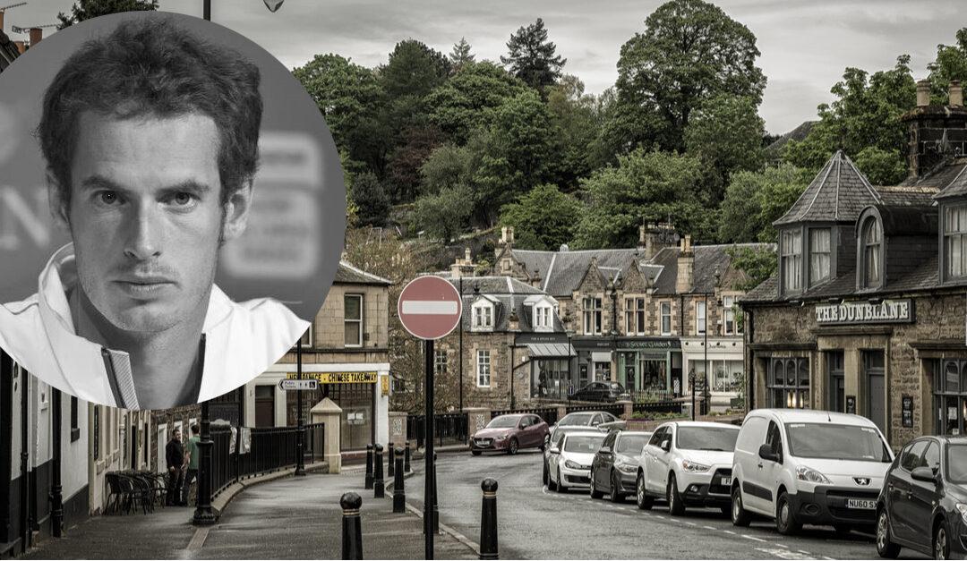 Andy Murray kjente massemorderen som drepte 16 av hans medelever i 1996
