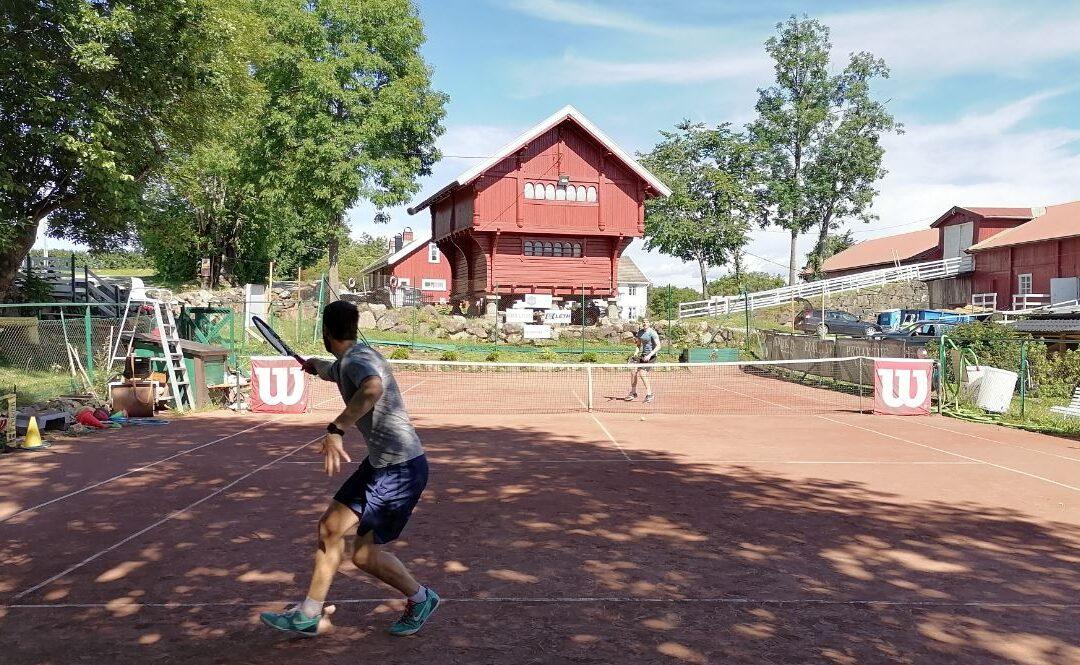 Norges eldste tennisbane