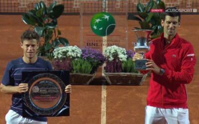 Djokovic til topps i Roma