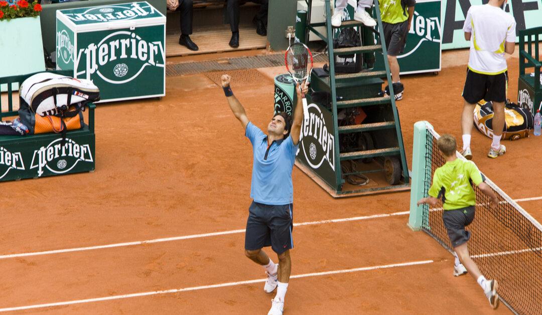 Da Roger Federer vant French Open