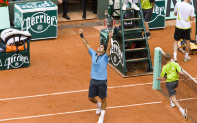 Da Roger Federer vant French Open