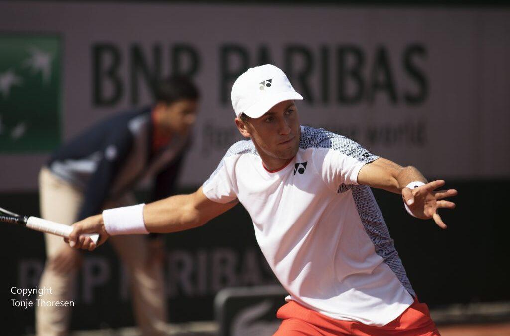 Ruud med klassisk snuoperasjon i US Open