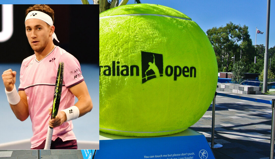 Stor fordel for Casper Ruud i Australian Open