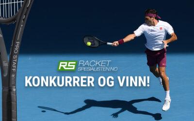 Vinn en Wilson Pro tennisracket – inngravert med Roger Federer signatur
