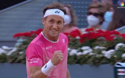 Bunnsolid Ruud vant kvartfinalen i Madrid