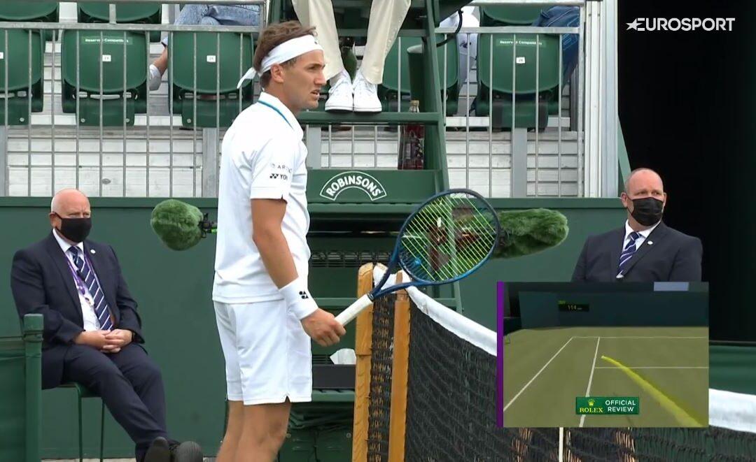 Stang ut av Wimbledon