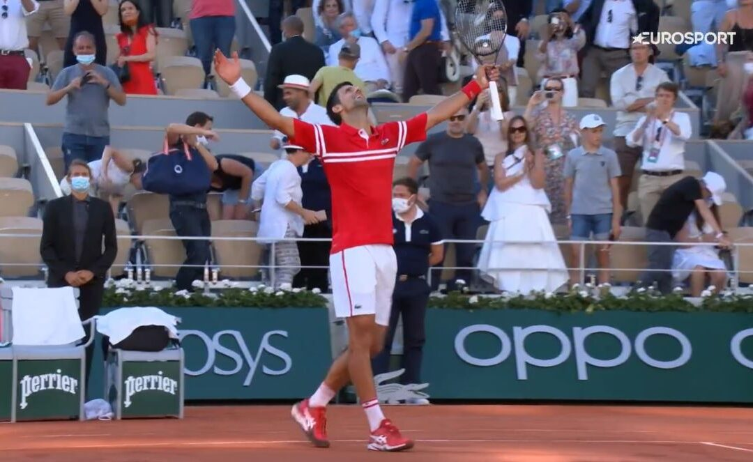Djokovic er den nye sjefen i Paris