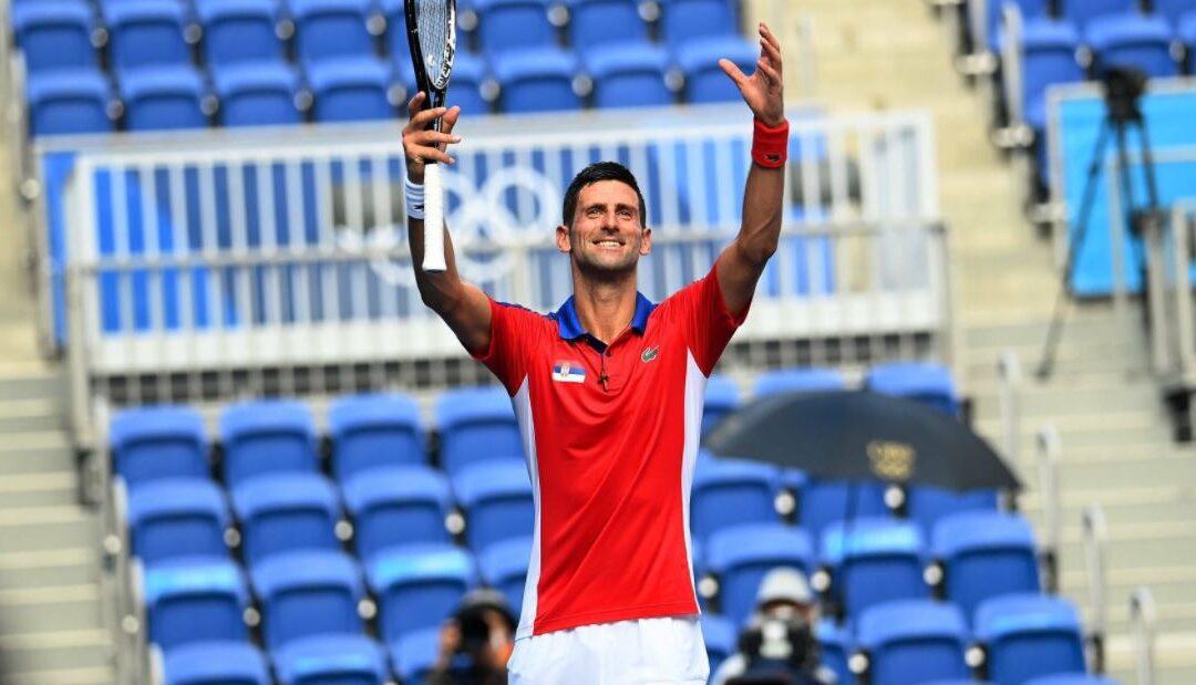 OL i Tennis: Djokovic har startet gulljakten