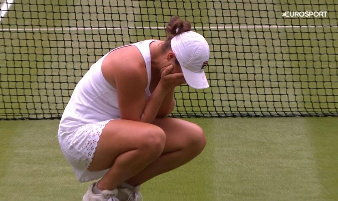Barty vant Wimbledon