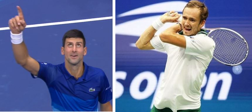 Djokovic og Medvedev til ny finale