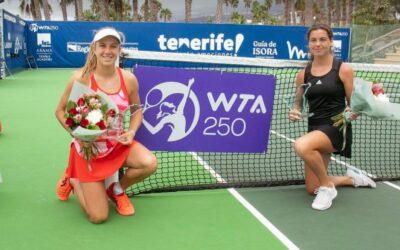 Skriver historie: Ulrikke Eikeri vant Norges første WTA-tittel